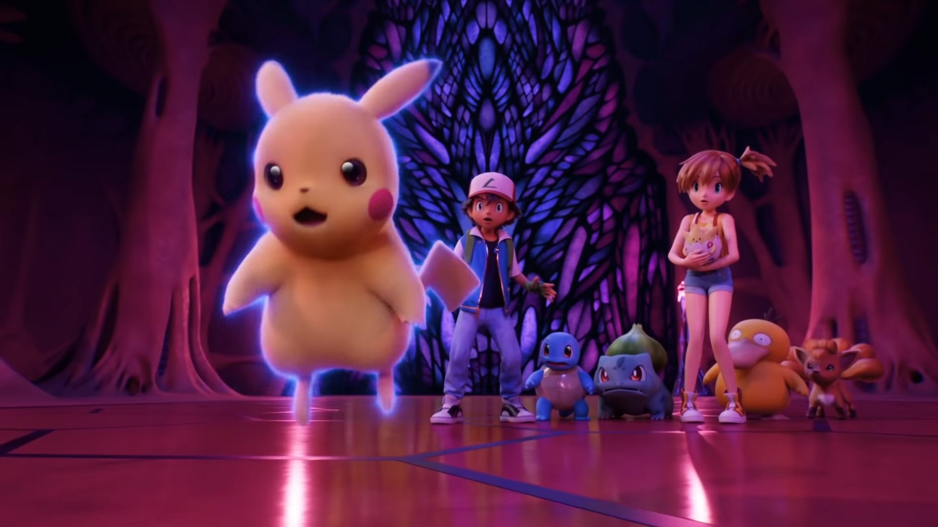 You can watch Pokemon: Mewtwo Strikes Back—Evolution on Netflix in February screenshot