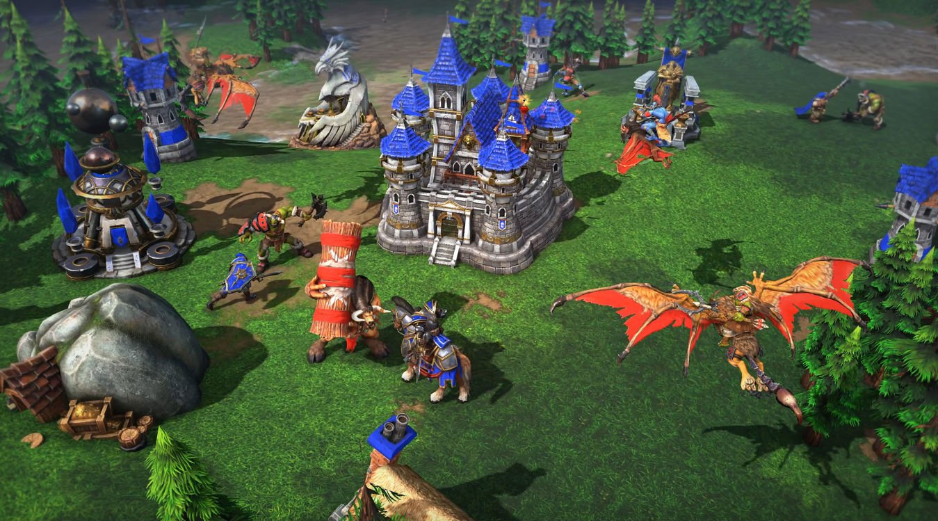 Review In Progress Warcraft Iii Reforged