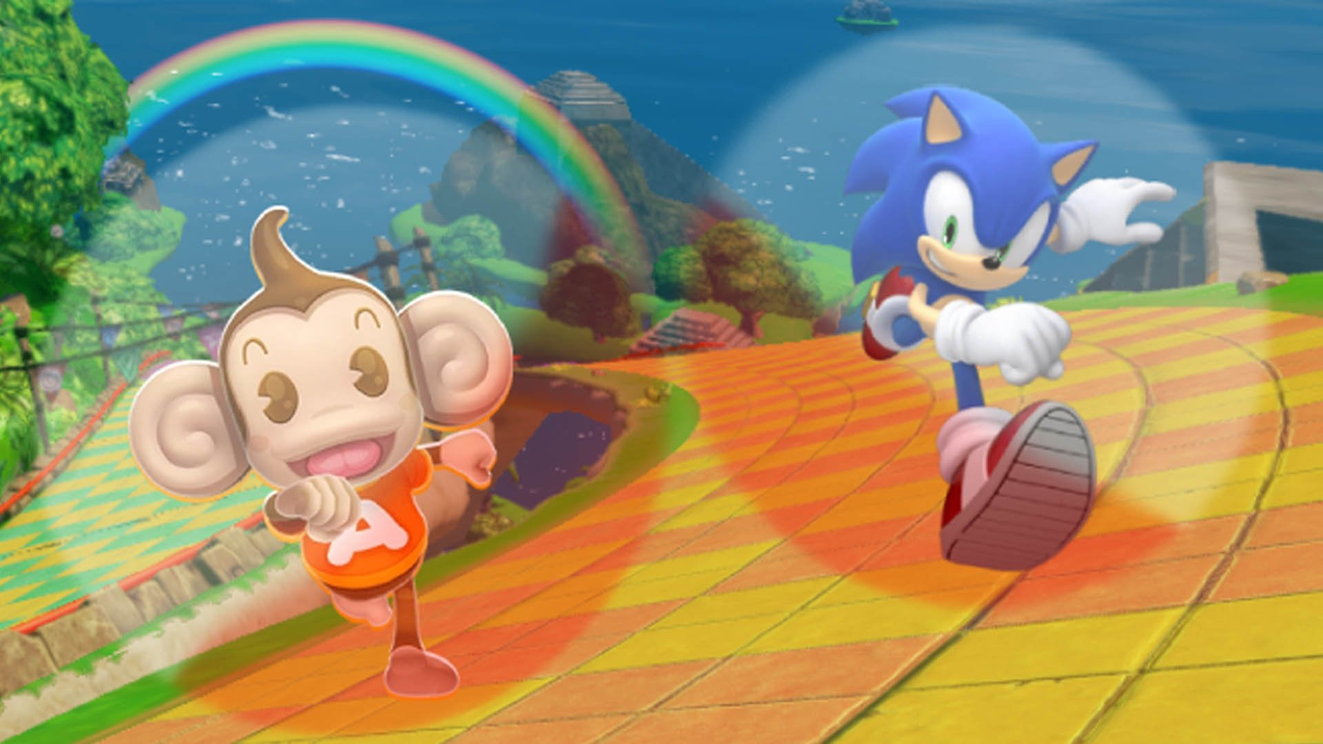 Super Monkey Ball cheat codes turn the ball into a cube (or a triangle or a star)