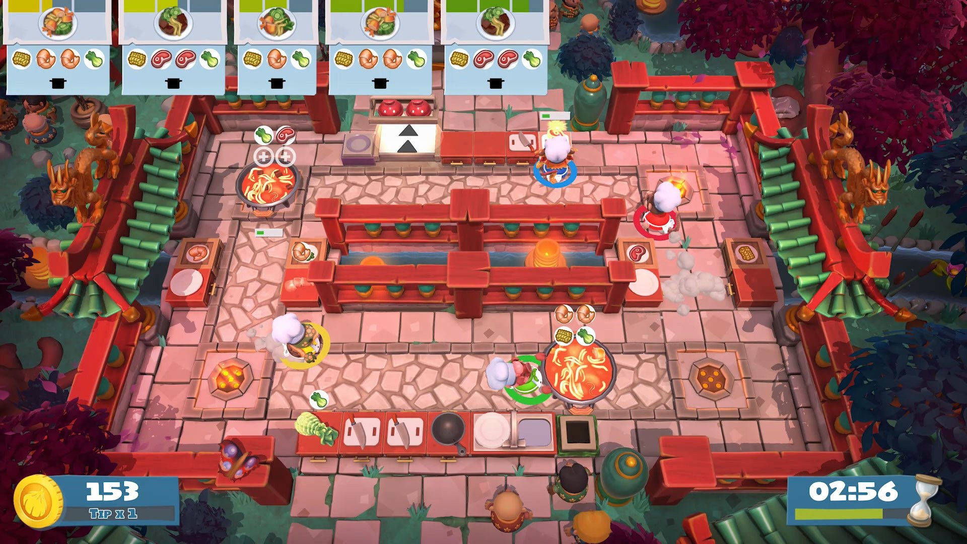 Fire up Overcooked 2 for the Spring Festival update