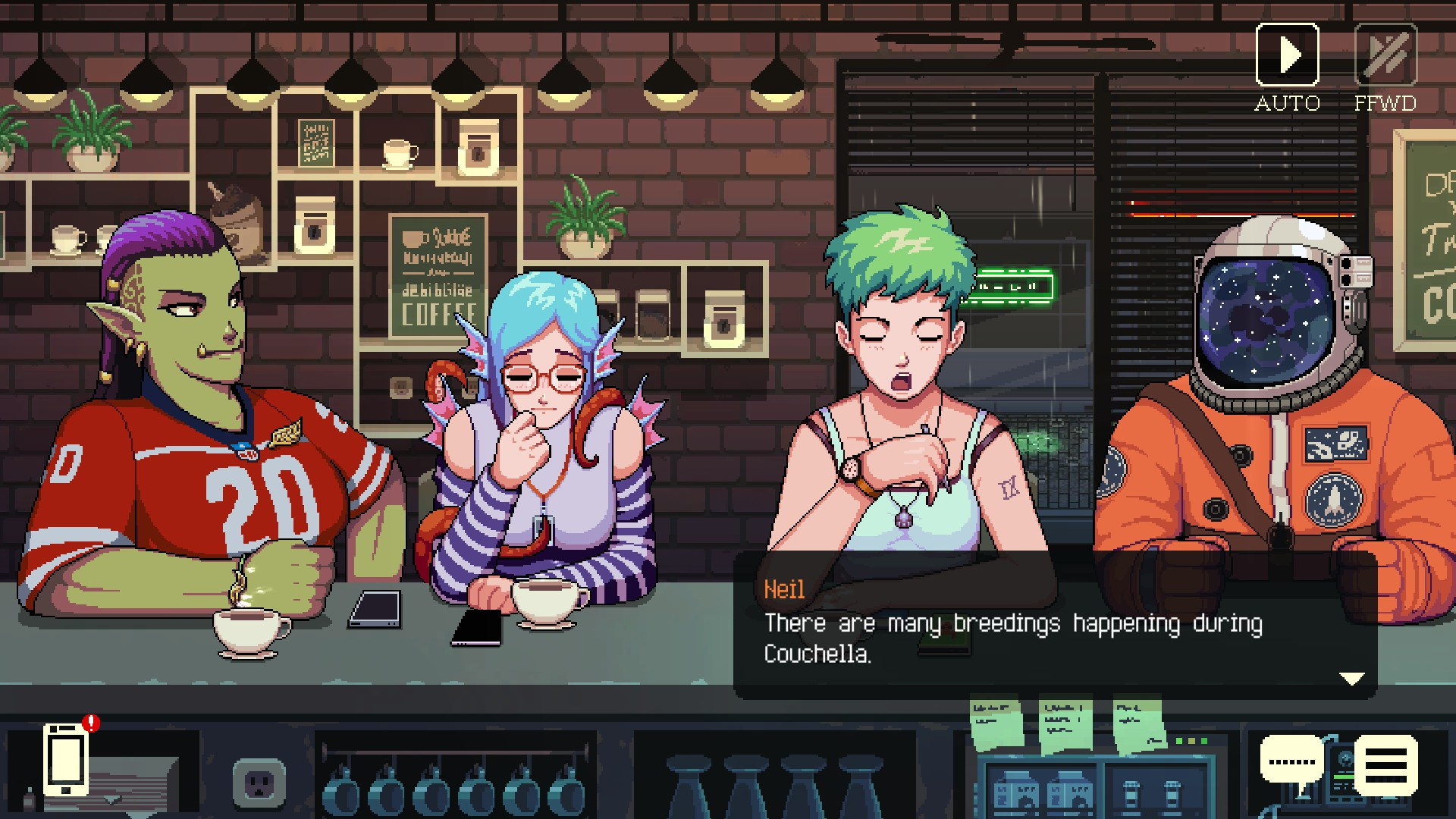 Coffee Talk review - Destructoid