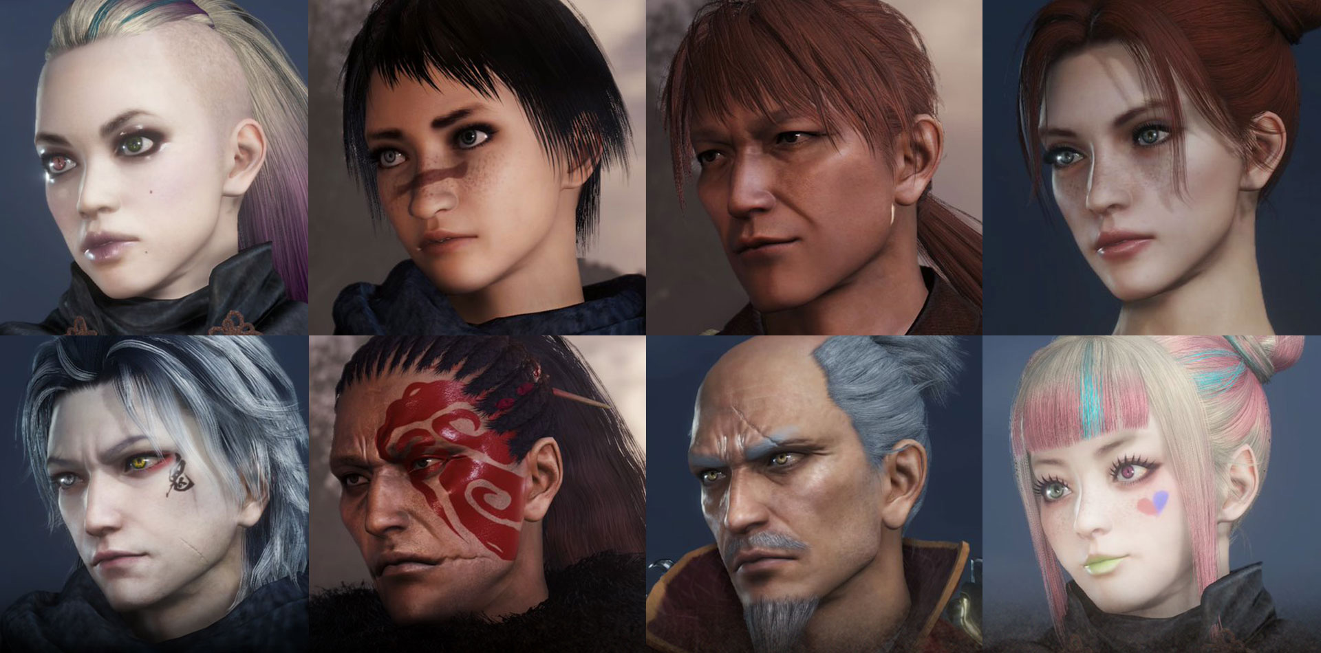 These are the Nioh 2 character contest winners