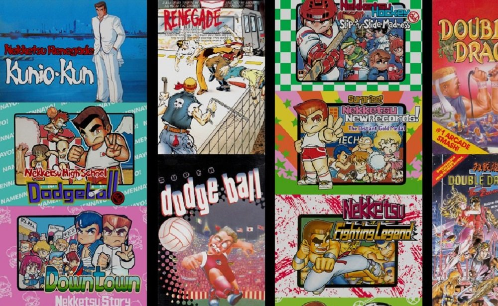 River City Kunio Kun Double Dragon Collection Seemingly Headed West