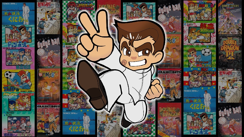 River City Kunio Kun Double Dragon Collection Launches February 20 On Ps4 And Switch