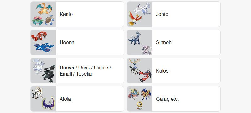 Pokemon of the Year 2020 poll