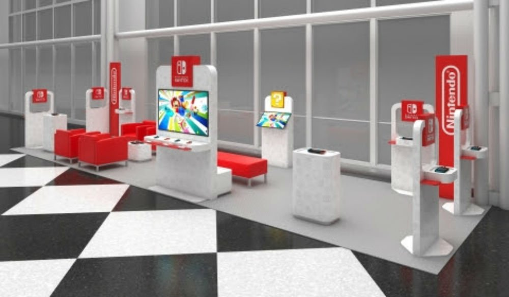 Nintendo Switch kiosks are coming to select US airports screenshot