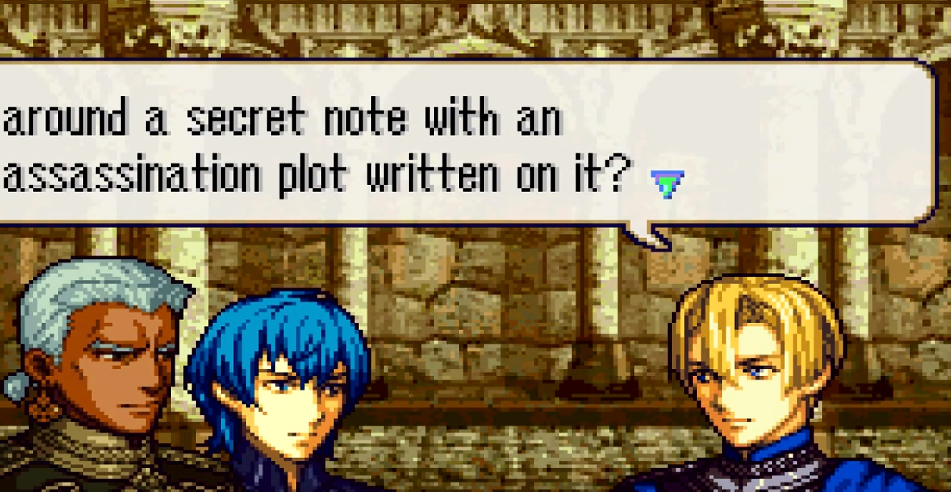 A small team is making a Game Boy Advance demake of Fire Emblem: Three Houses, and it's glorious