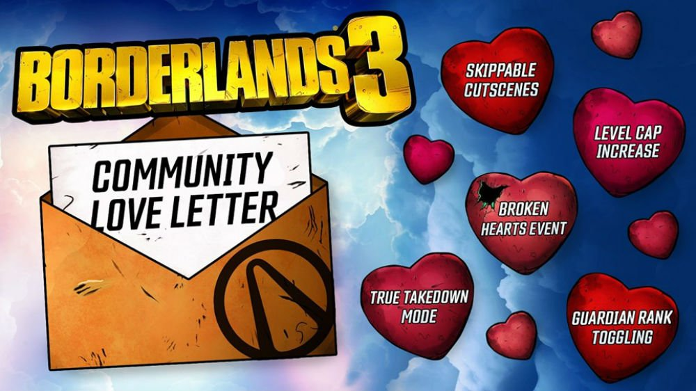(Update) Borderlands 3 is getting a level cap increase and a seasonal event, with more big updates on the way screenshot