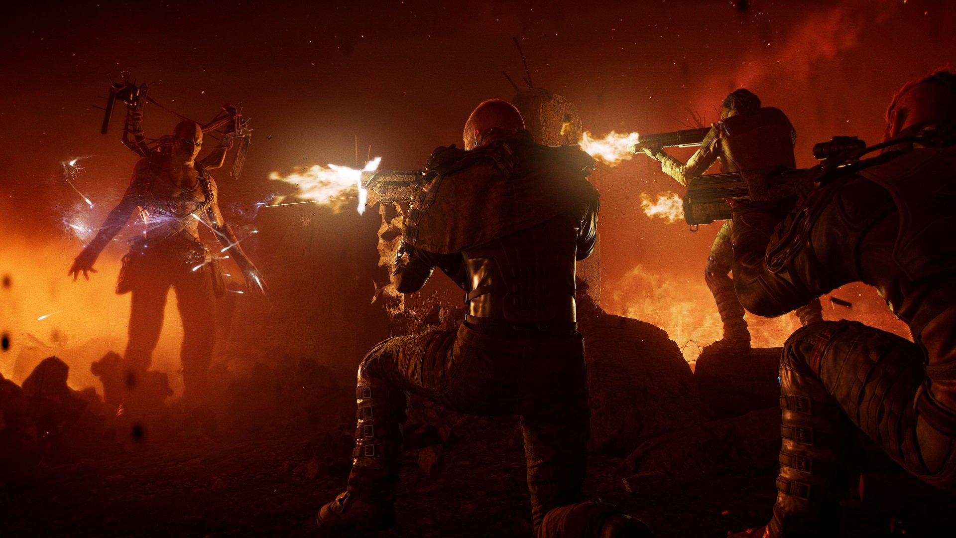 Square Enix's Outriders looks like Destiny by way of Gears of War screenshot