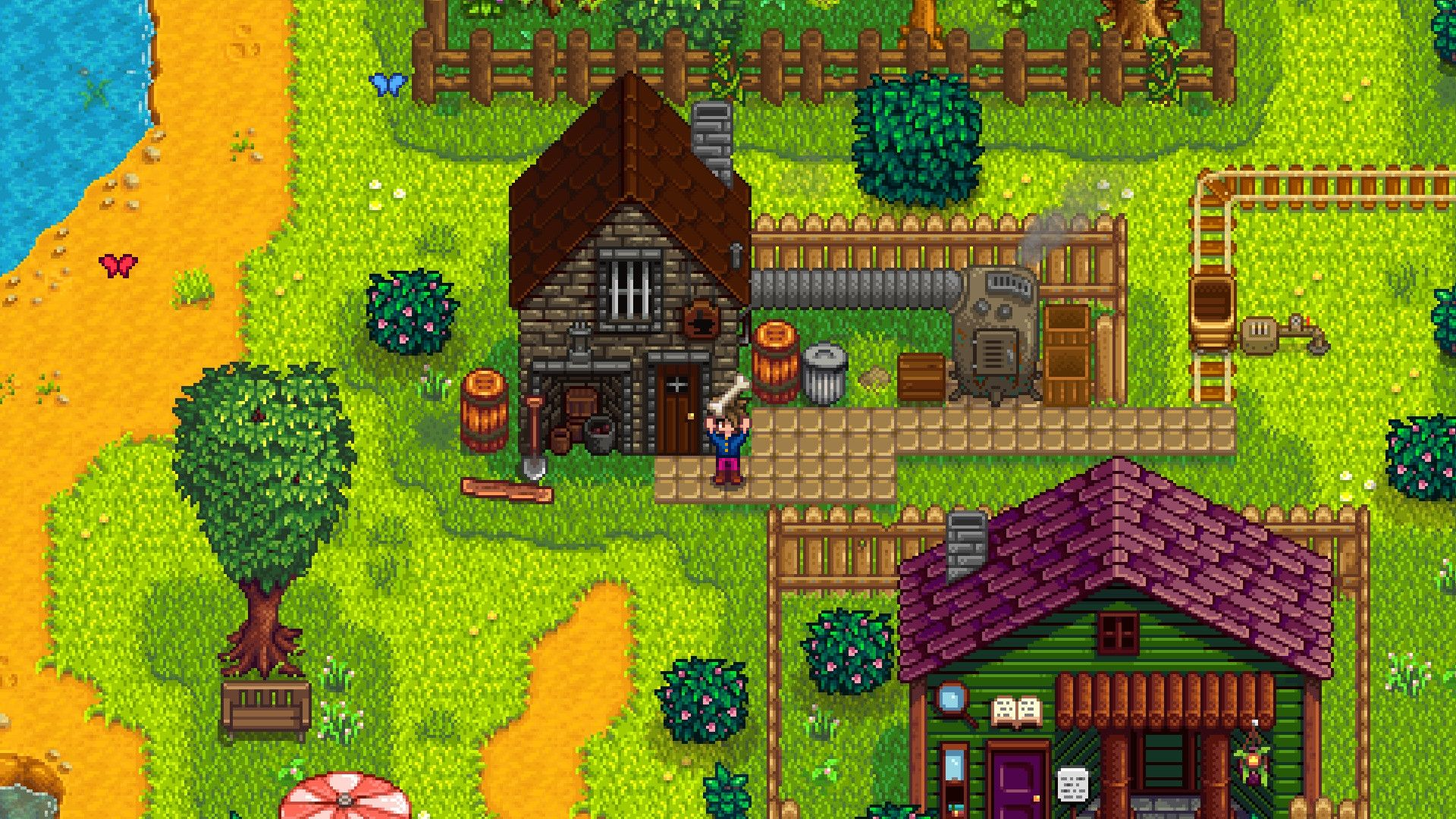 Two unannounced games will expand Stardew Valley's cinematic universe screenshot