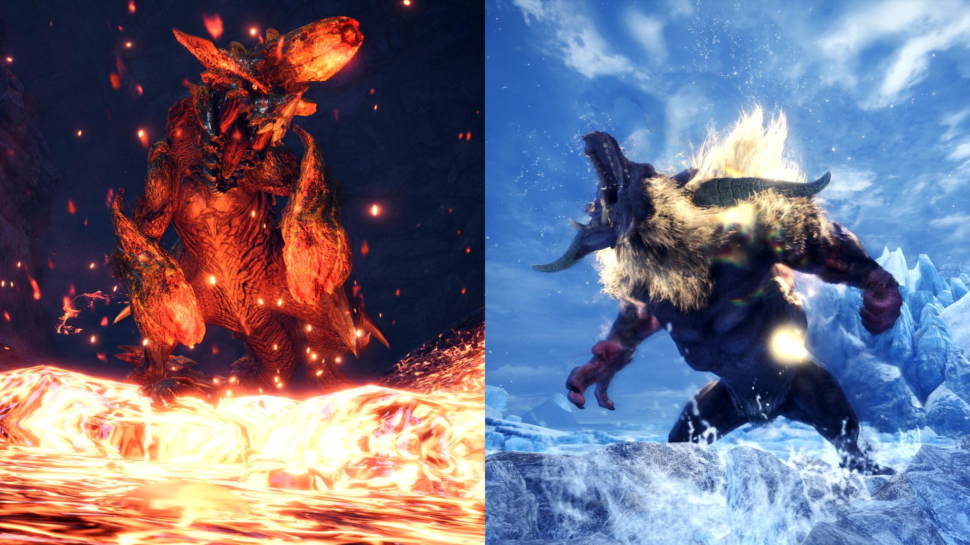 Raging Brachydios and Furious Rajang are invading Monster Hunter World: Iceborne screenshot
