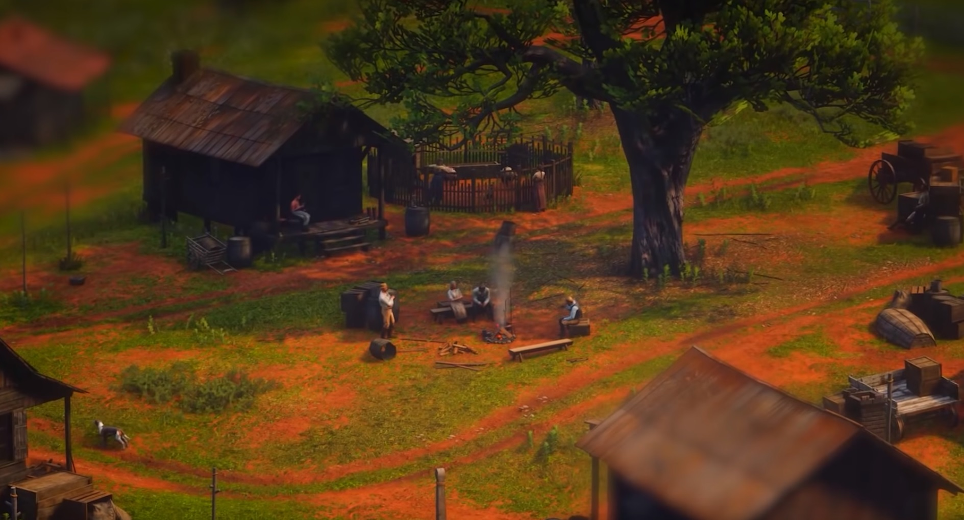 See the world of Red Dead Redemption 2 from a whole new perspective with the 'Tilt Shift' mod screenshot