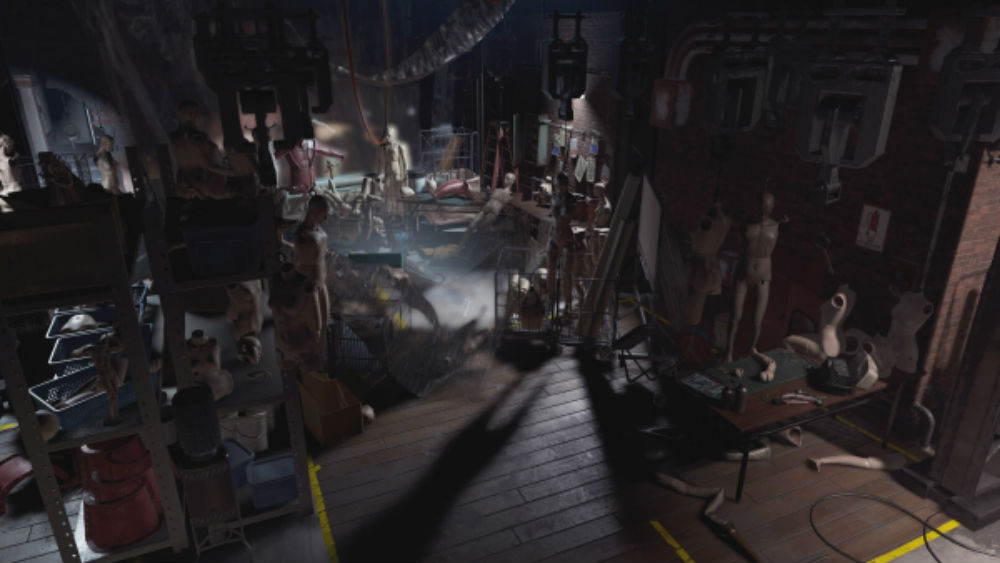 Resident Evil Resistance will feature an abandoned Raccoon City theme park screenshot
