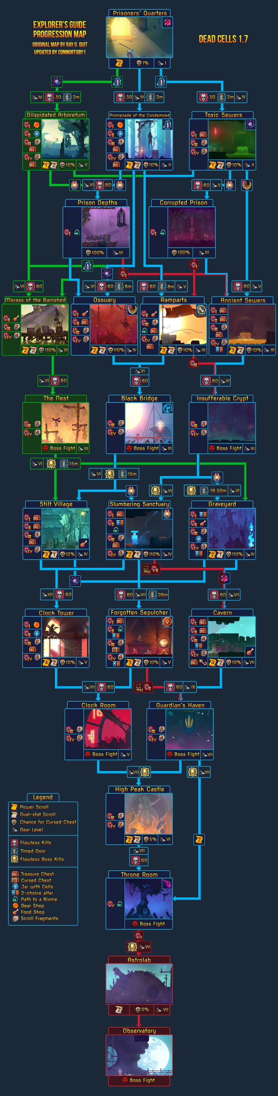 The Dead Cells map was revised for The Bad Seed