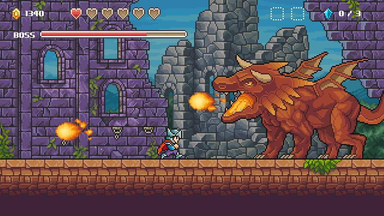 Contest: Win old-school-inspired platformer Goblin Quest for Switch screenshot