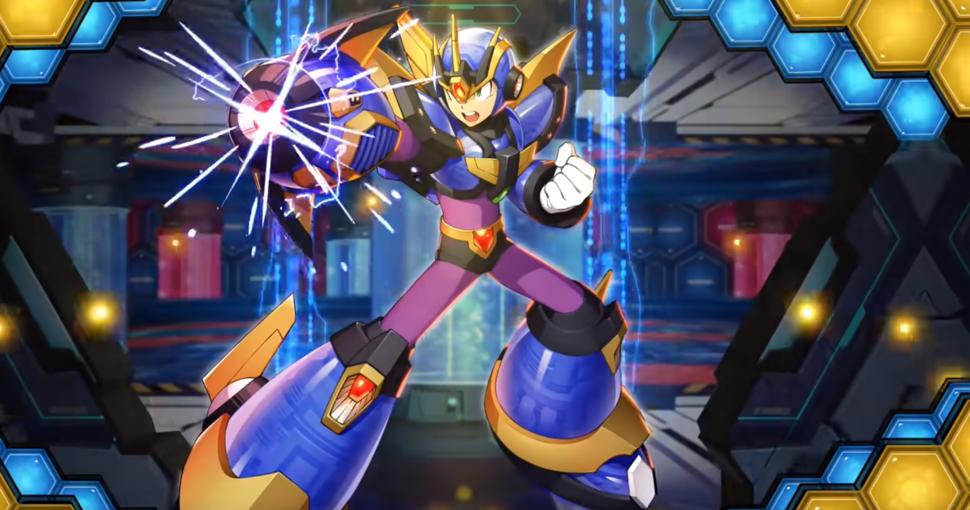 Mega Man X DiVE is out next month, and you can pre-register for it now screenshot