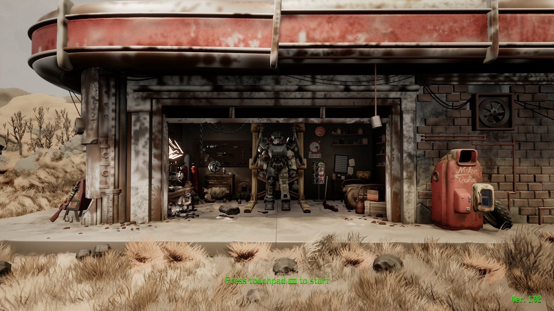 This Fallout 4 recreation in Dreams is out of this world screenshot