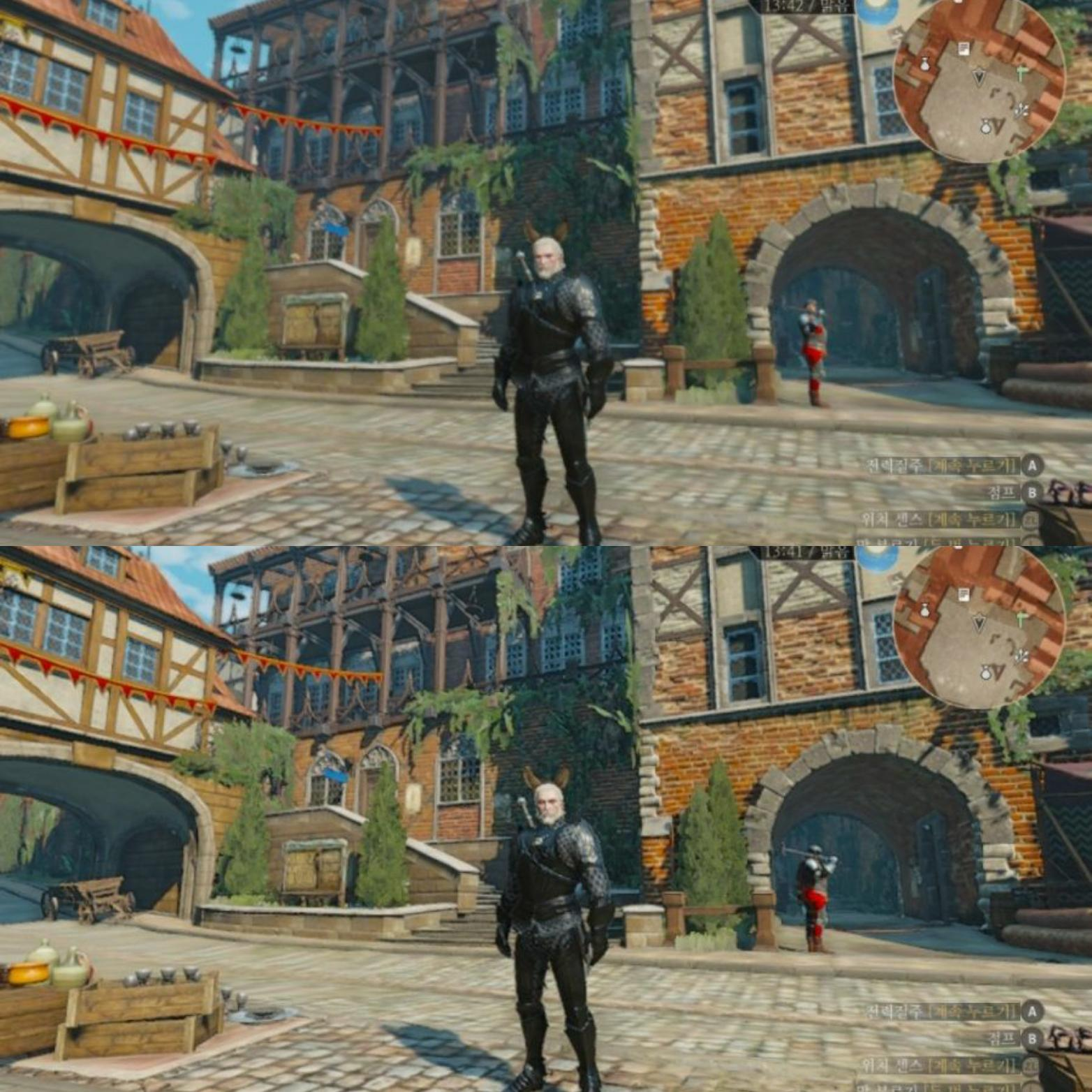 The Witcher 3 Switch patch is out in some regions and man is it noticeable screenshot