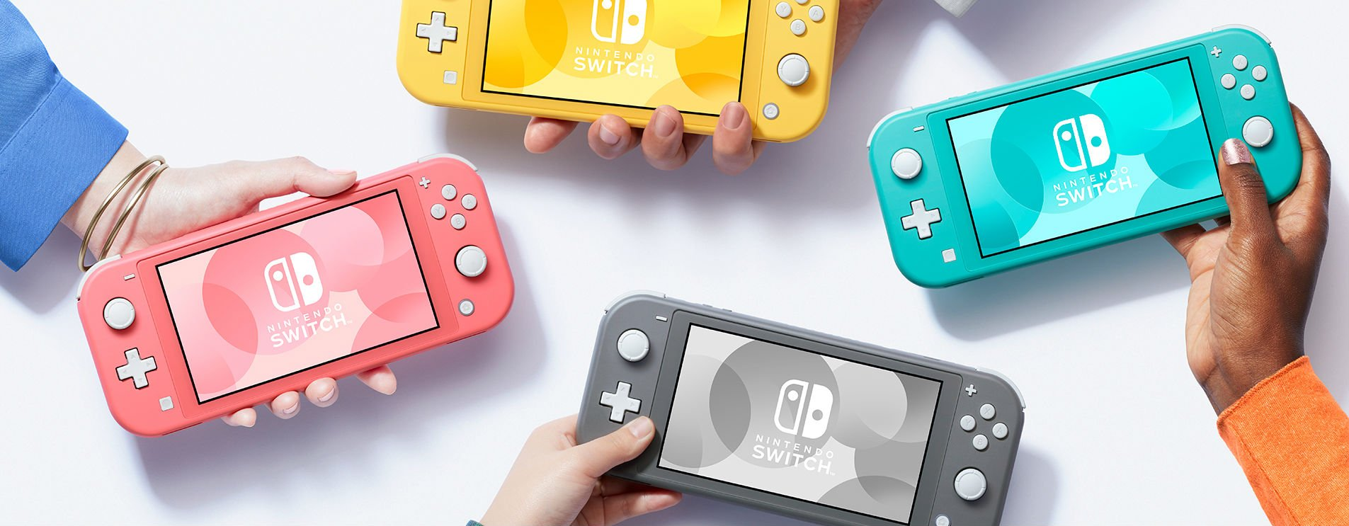 Nintendo announces a fourth color for the Switch Lite: Coral screenshot