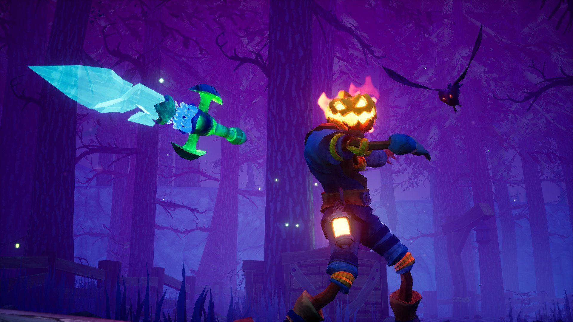 Pumpkin Jack wants to recapture the Jak and Daxter vibe screenshot
