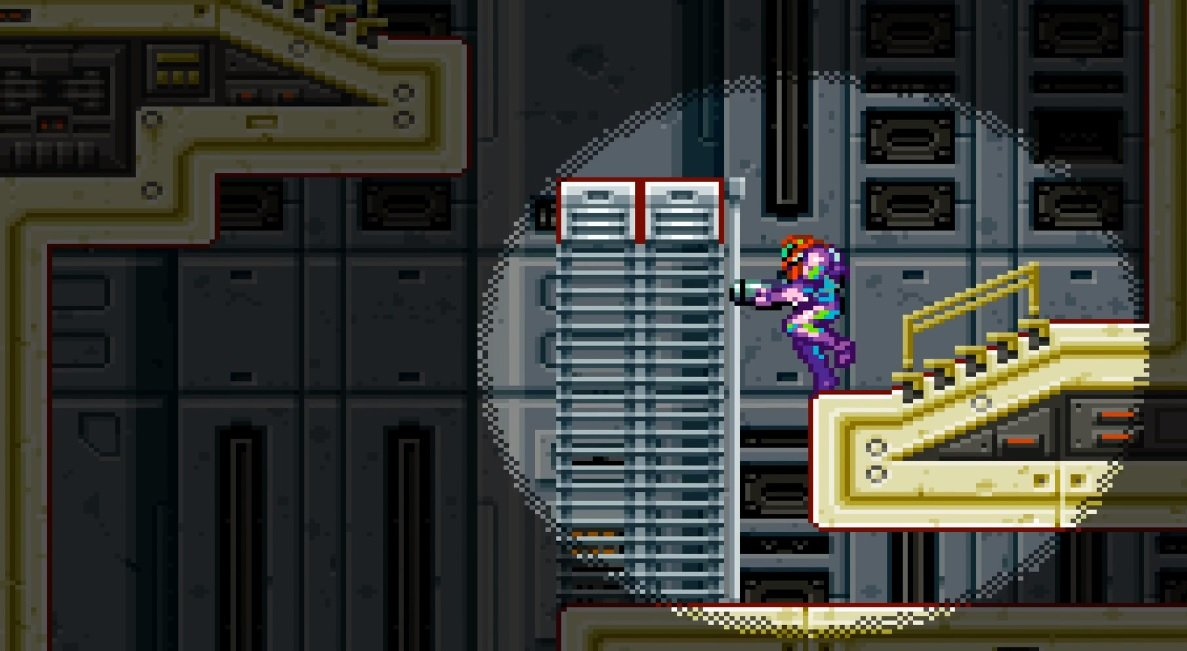 Someone is recreating Metroid Fusion in Minecraft screenshot
