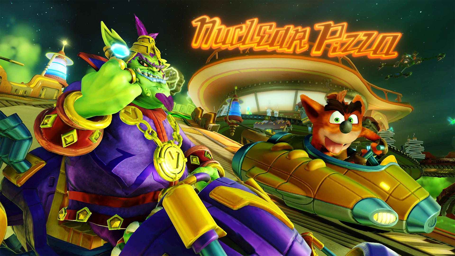 Emperor Velo is back for the final Crash Team Racing Grand Prix screenshot