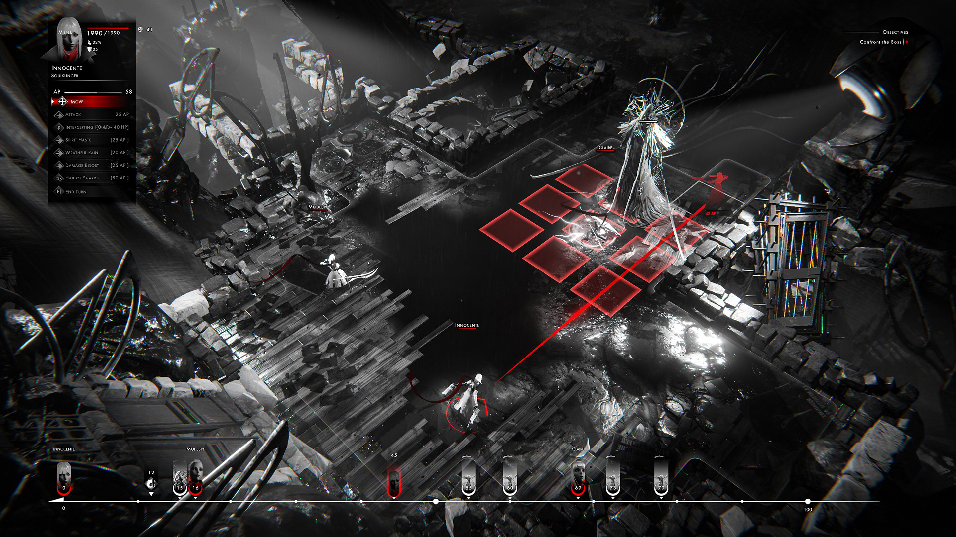 Othercide is a horror-tinged tactical RPG from Focus Home screenshot