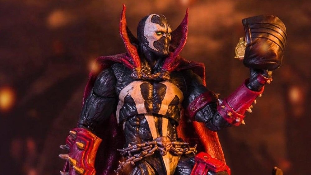 Mortal Kombat 11 Spawn look revealed with tie-in toy tweet