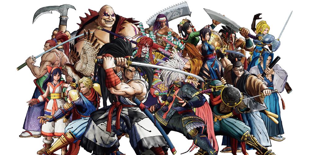 Samurai Shodown cuts deep on Switch  screenshot