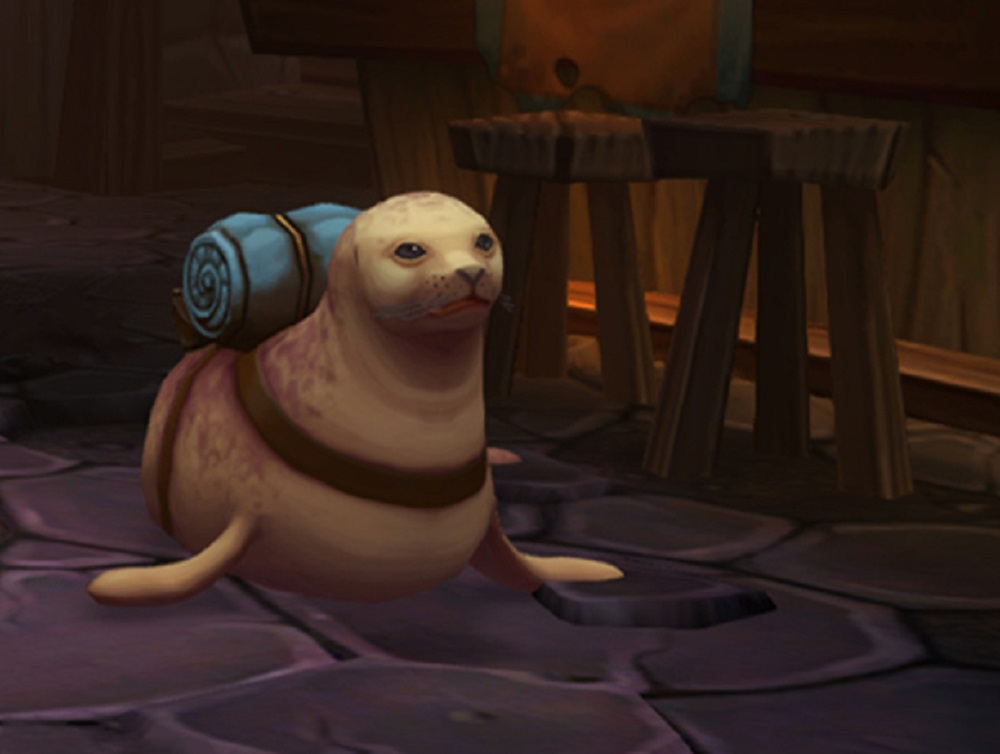 Torchlight II's new update lets you take a seal into battle screenshot