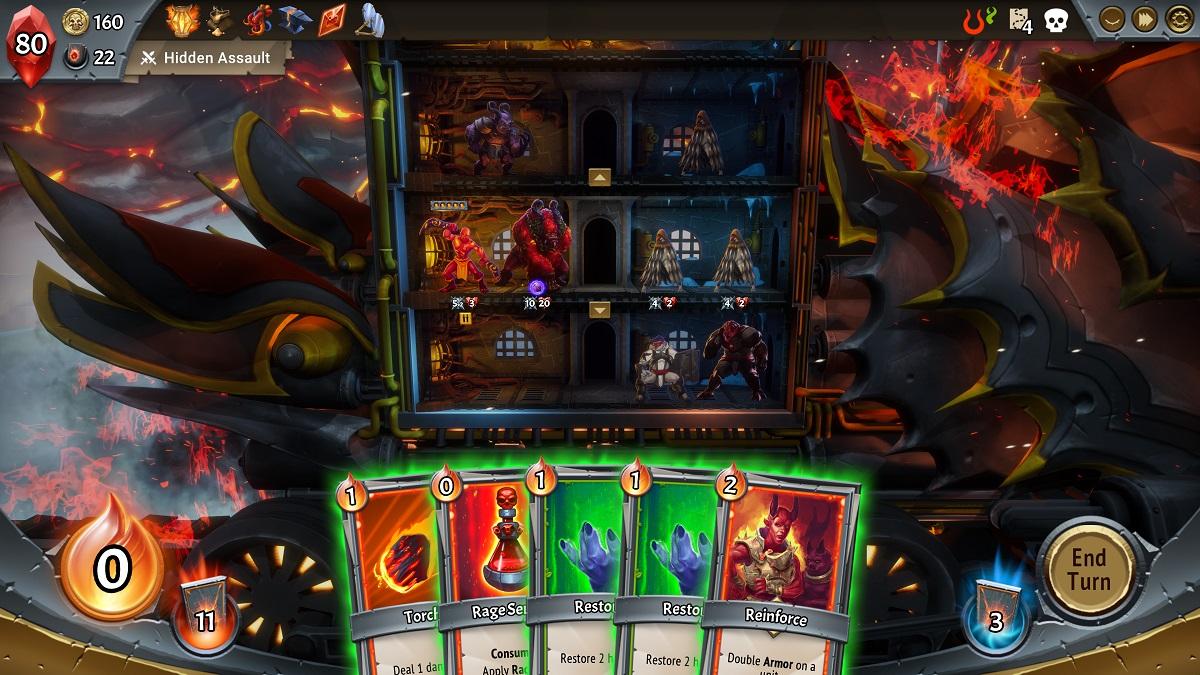 Giveaway: Take a beta key for creature-ridden card battler Monster Train screenshot