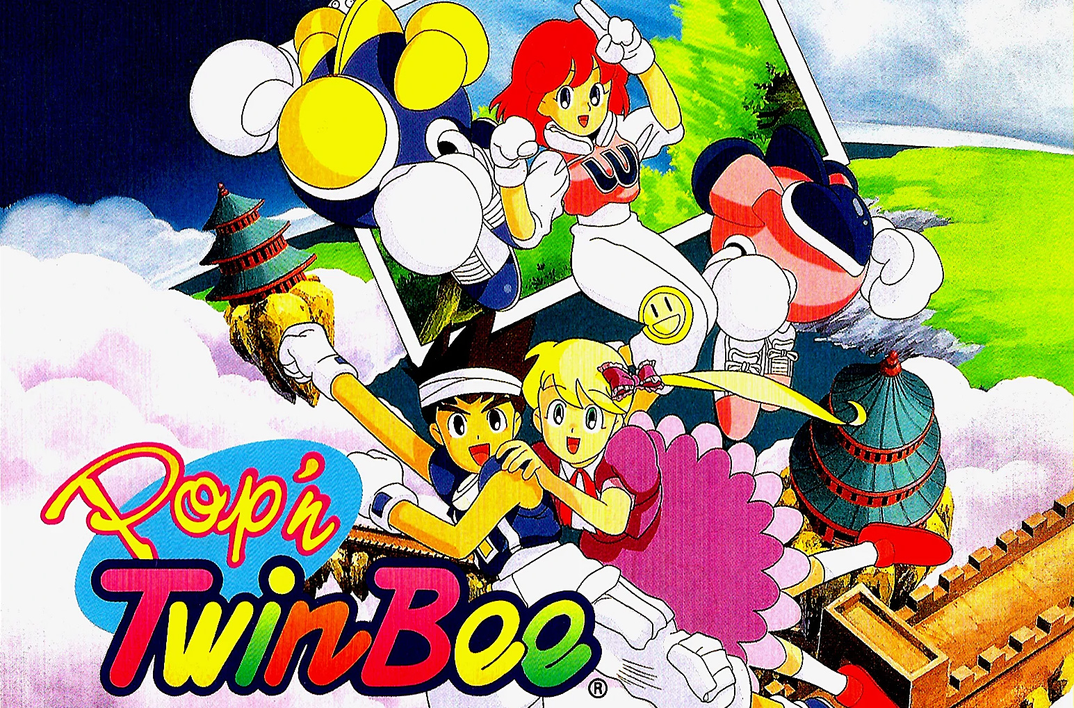 While we wait for new SNES games on Switch, try Pop'n Twinbee screenshot