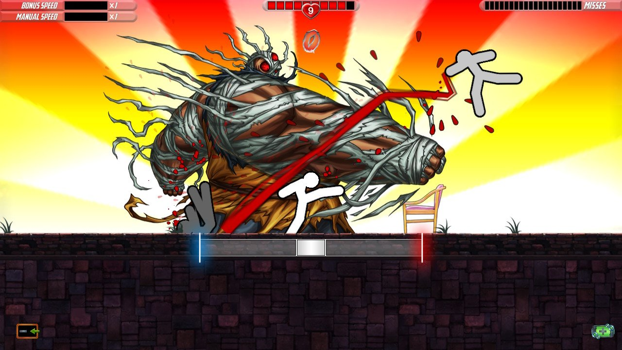 Review: One Finger Death Punch 2 screenshot