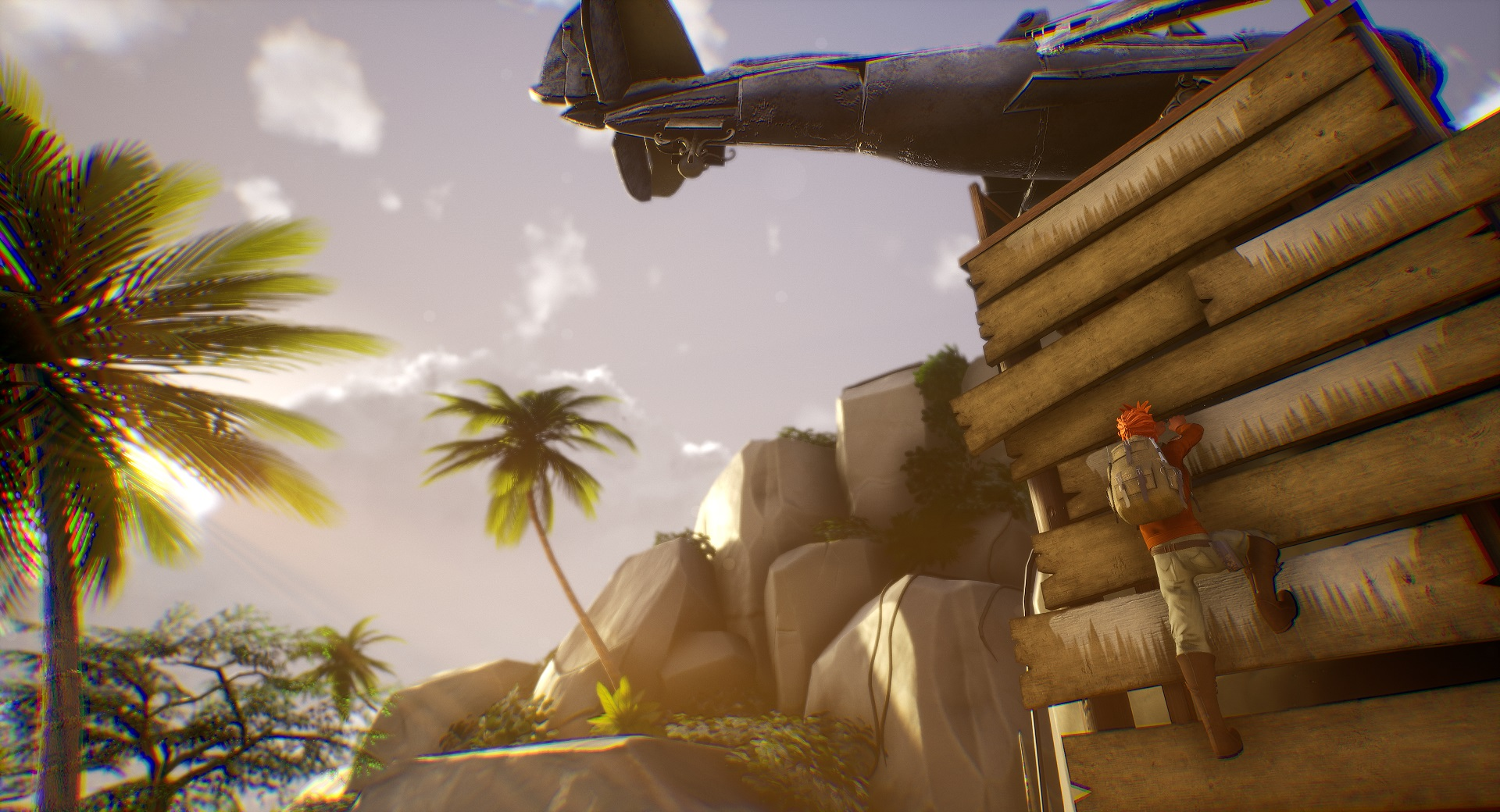 Hazel Sky looks like an indie cross between Uncharted and Firewatch screenshot