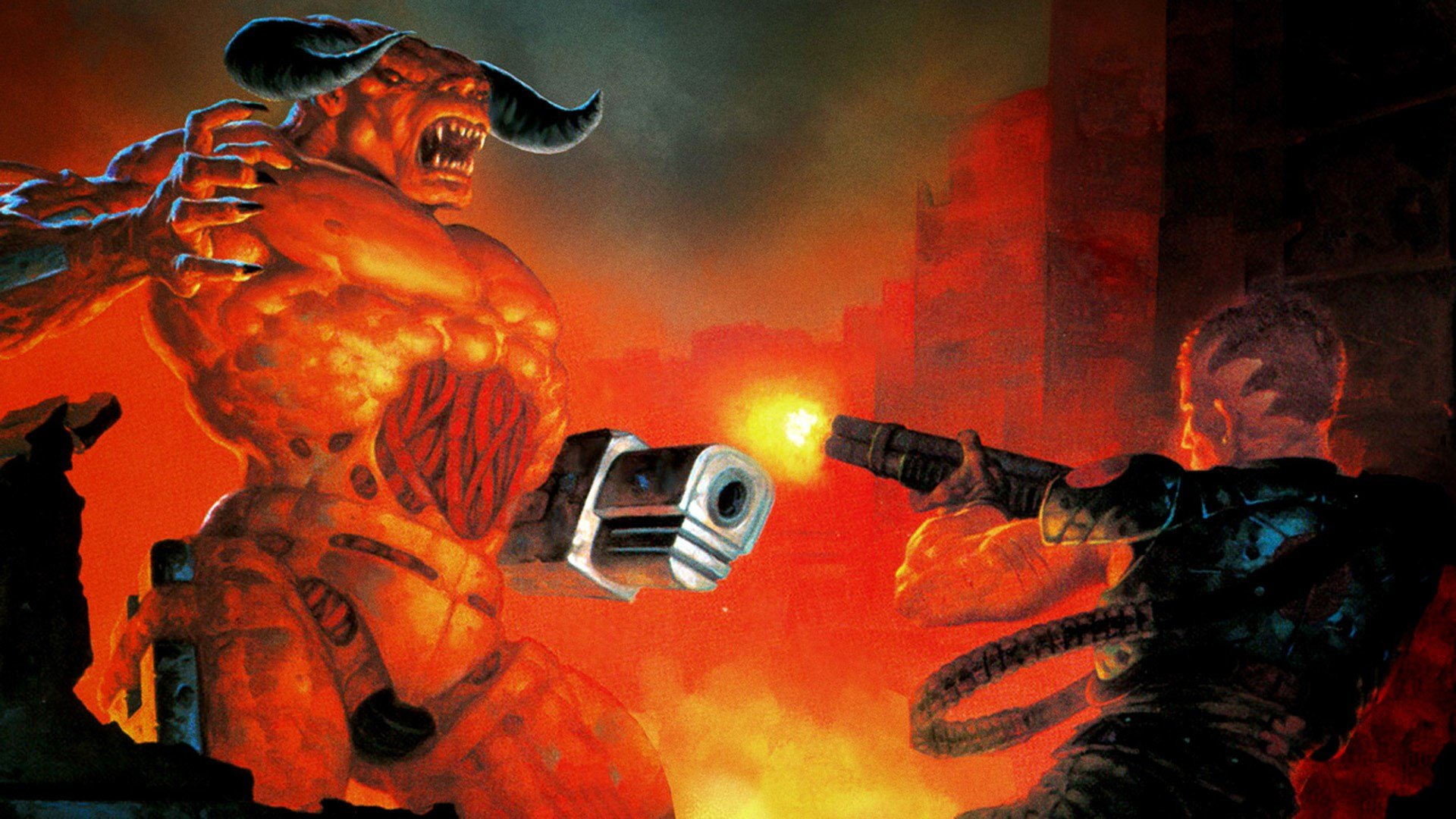 Doom 1, 2, and 3 are all under $3 on Switch right now screenshot