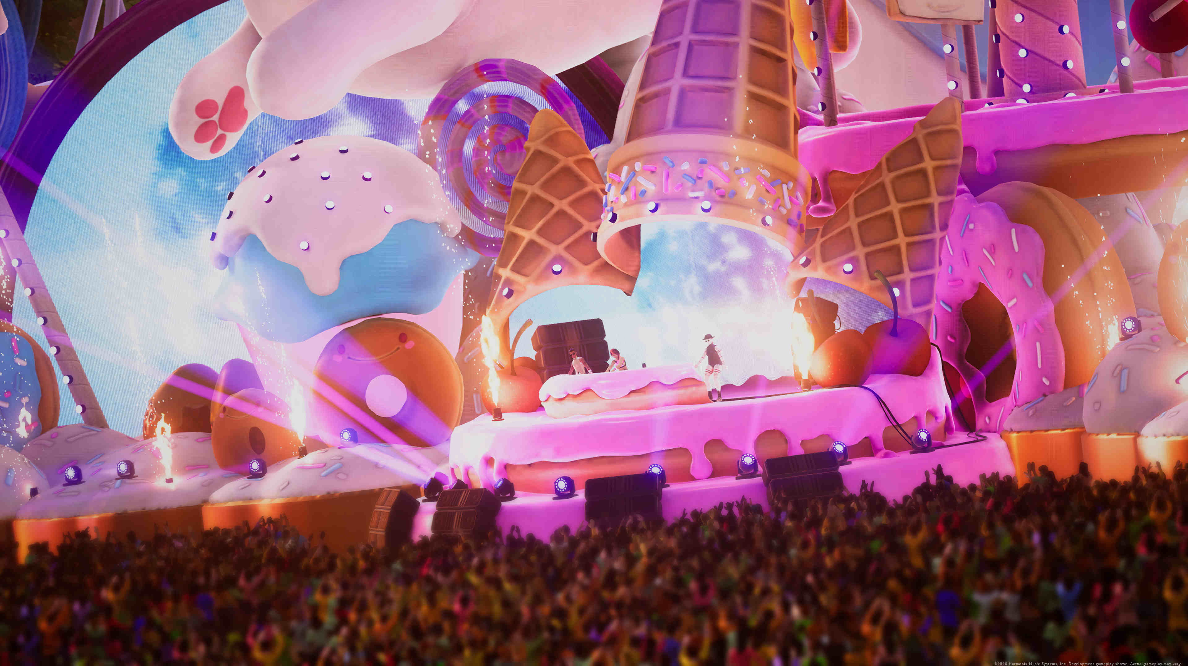 Harmonix's next project is Fuser, a DJ mixing game with artists like Billie Eilish and Post Malone screenshot