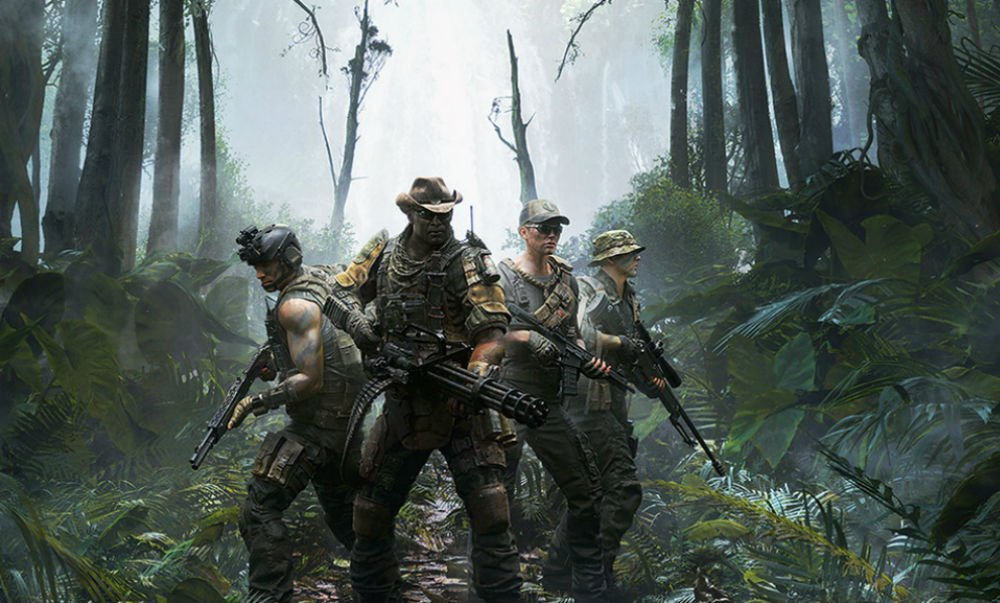 The upcoming Predator game will get a trial weekend next month on PC and PS4 screenshot