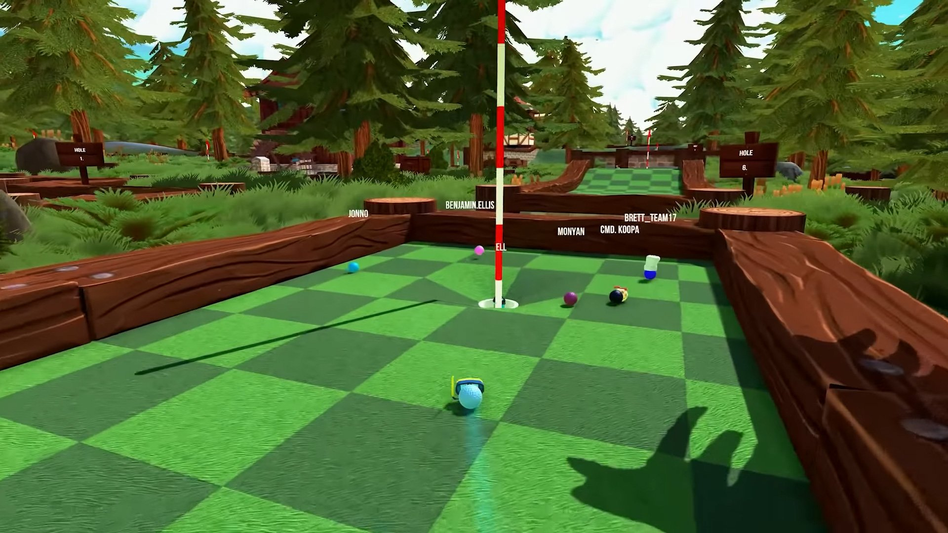 I'm weirdly pumped for Golf With Your Friends on Switch screenshot