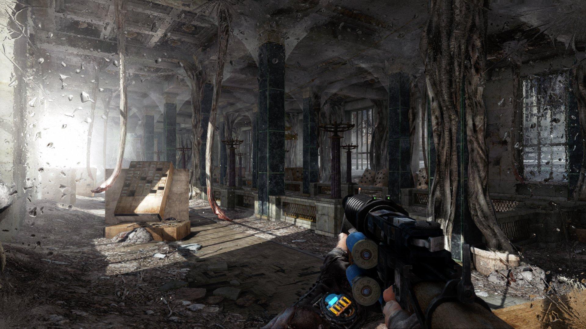 Nintendo Download: Metro 2033 and Last Light Redux screenshot
