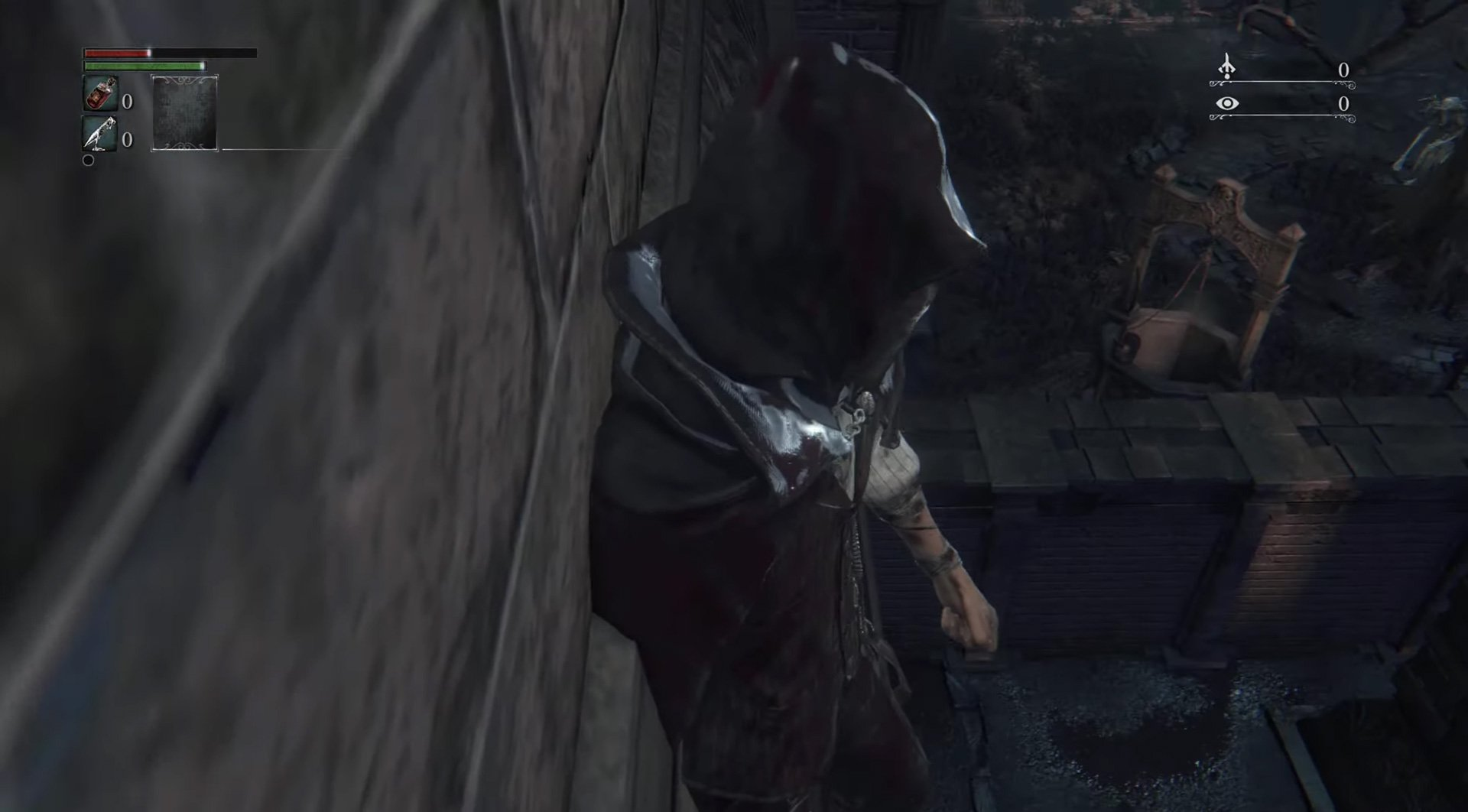 You can skip to the Forbidden Woods in Bloodborne again screenshot