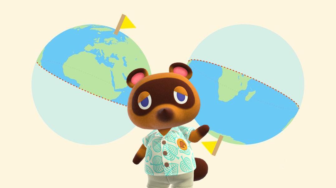 Which hemisphere will your Animal Crossing: New Horizons island be set in? screenshot