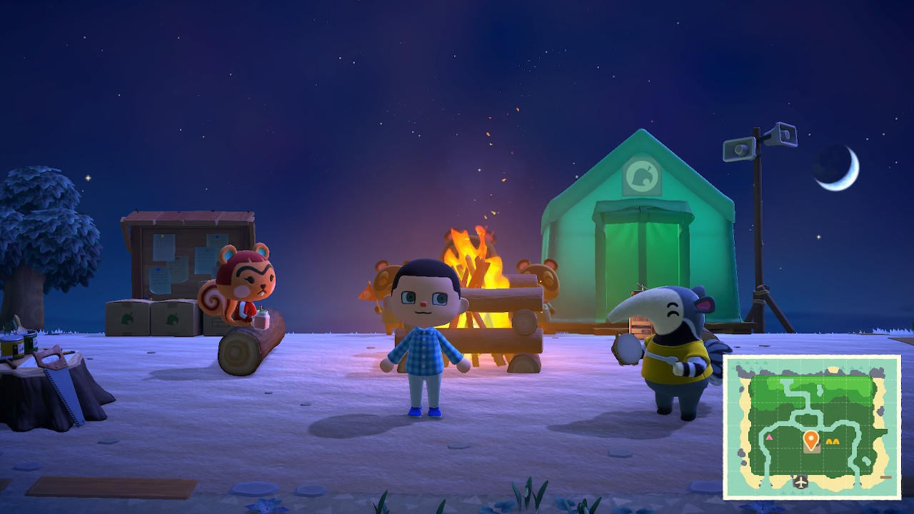 How to quickly pay off your first loan in Animal Crossing: New Horizons screenshot