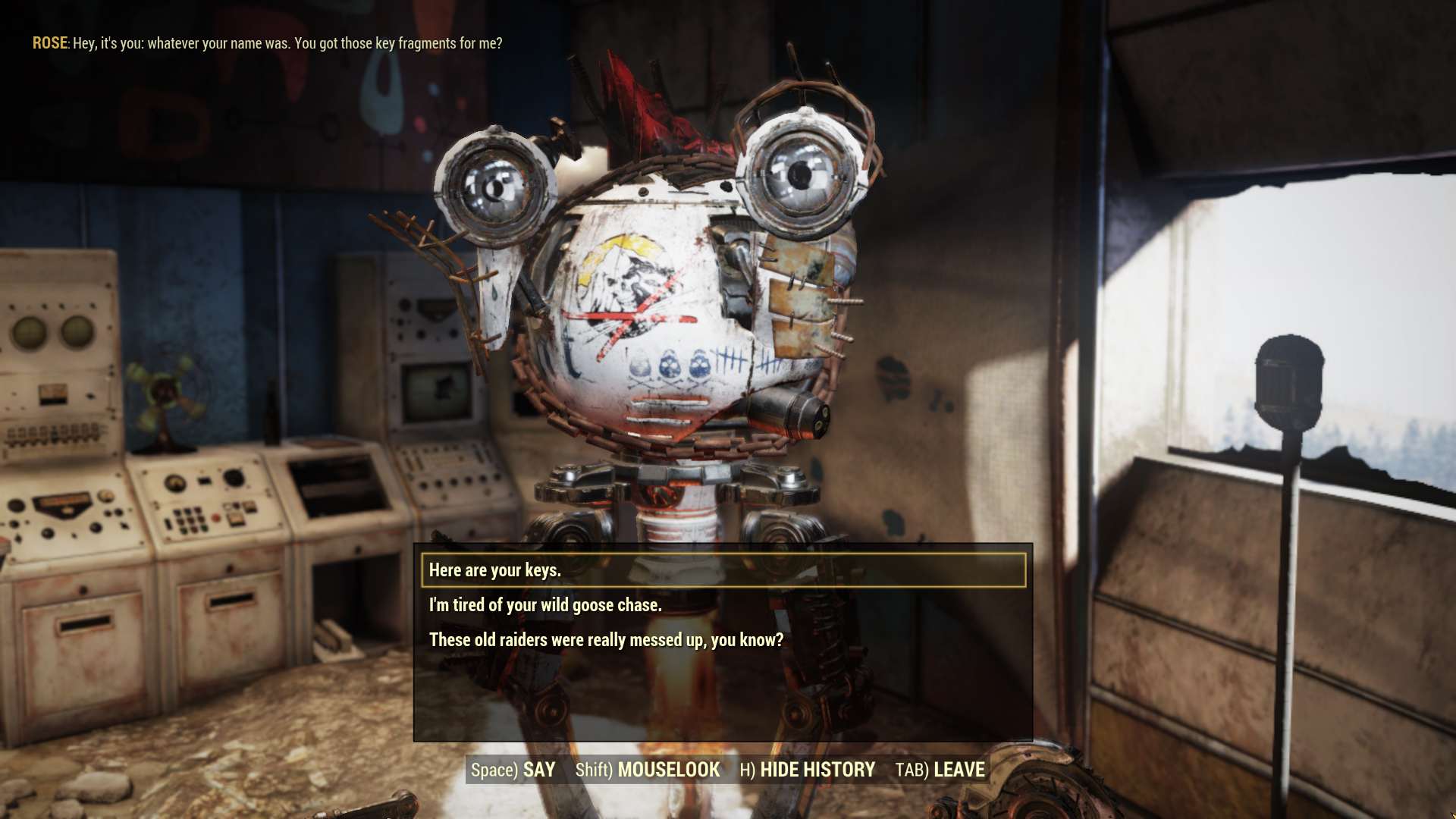 Here's how Fallout 76's new NPC dialogue system works screenshot