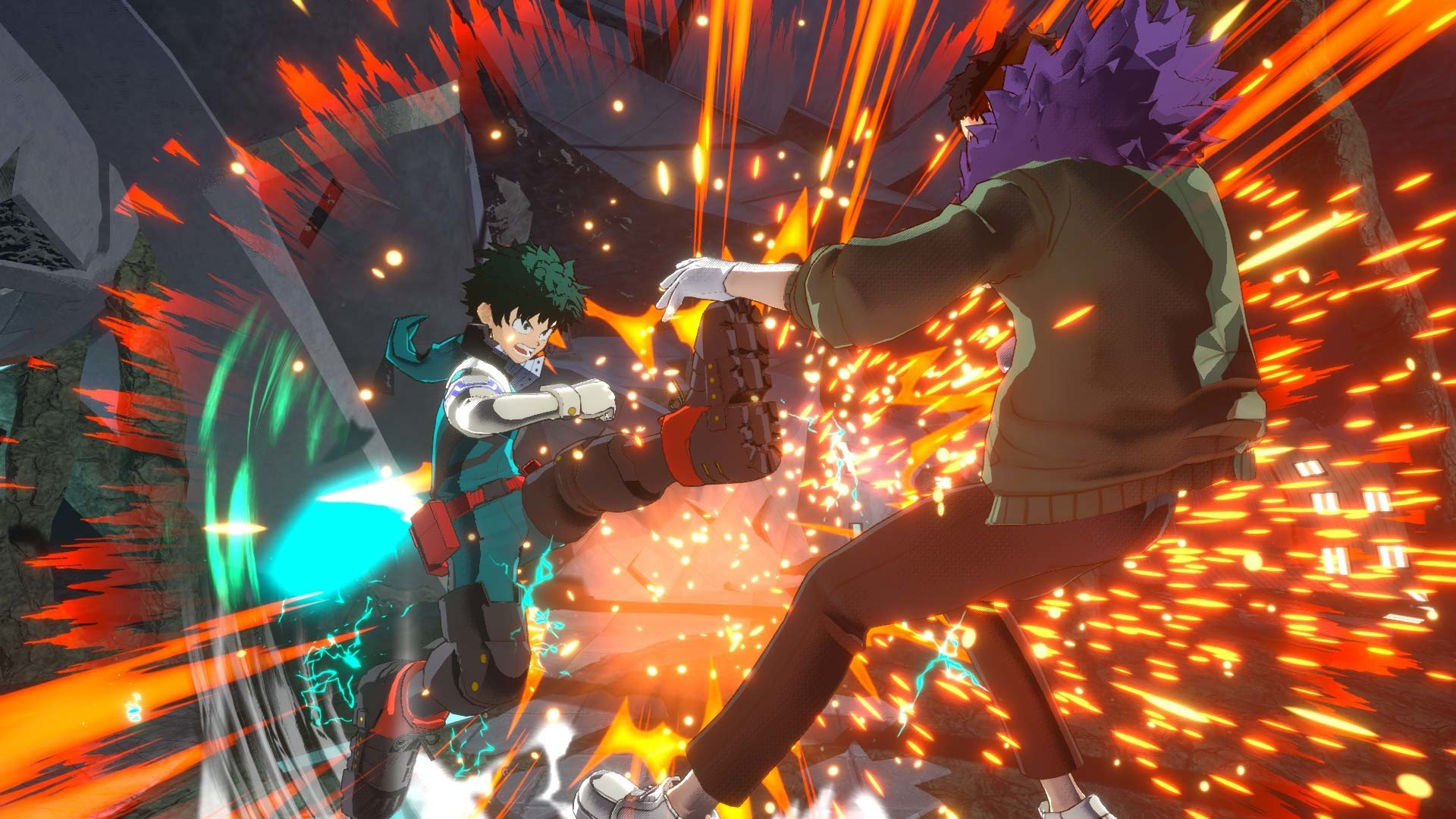 Get a load of the villains in the new My Hero Academia game screenshot