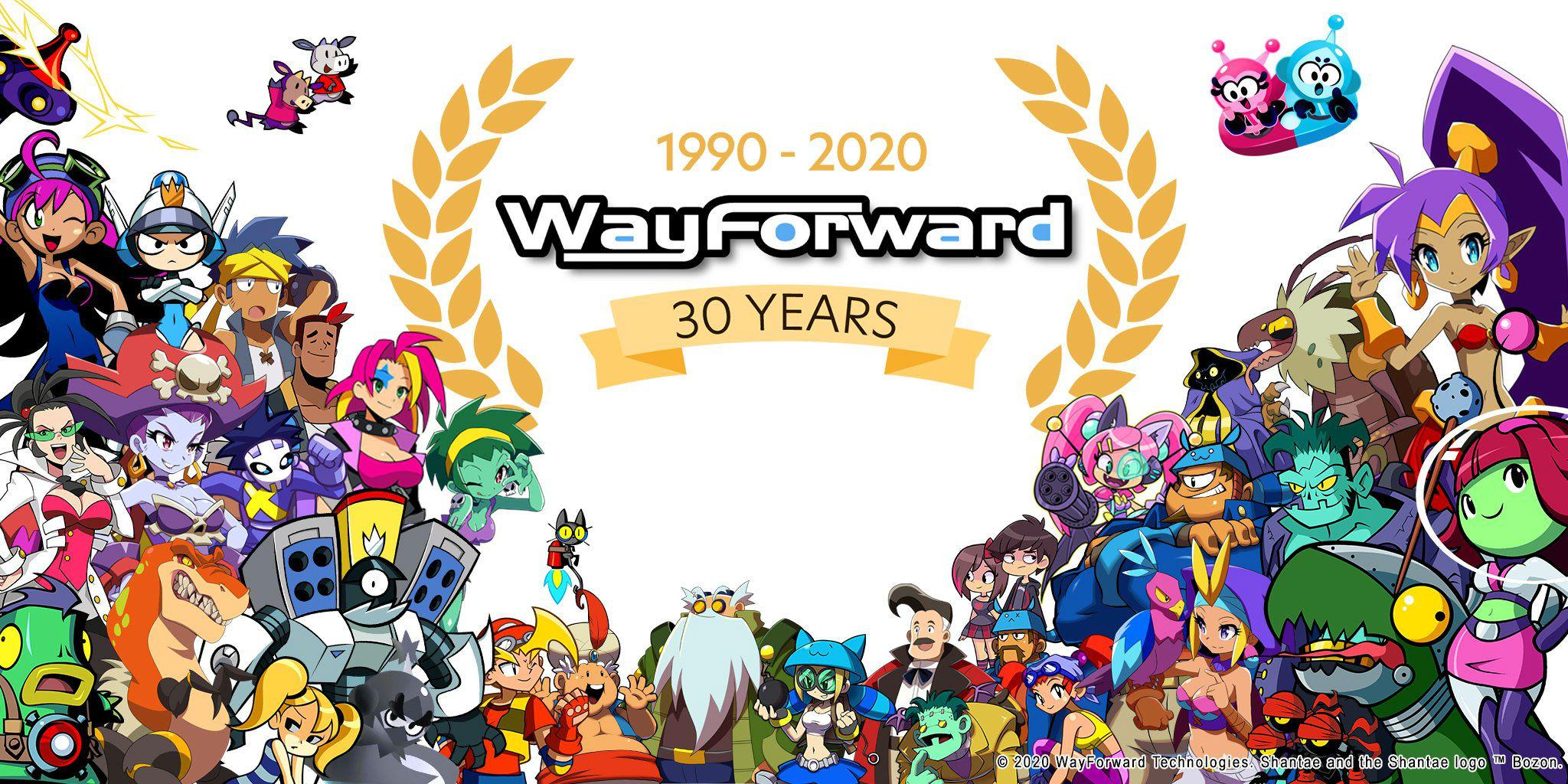 WayForward turns 30 today, celebrates nearly 20 years of Shantae screenshot