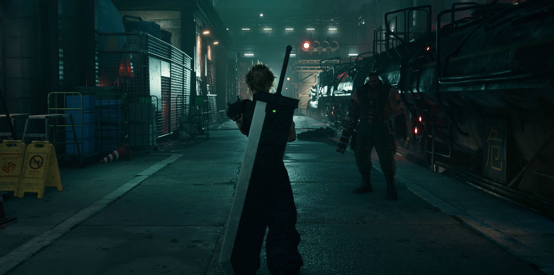 The Final Fantasy VII Remake is everything I hoped it would be, based on the demo screenshot