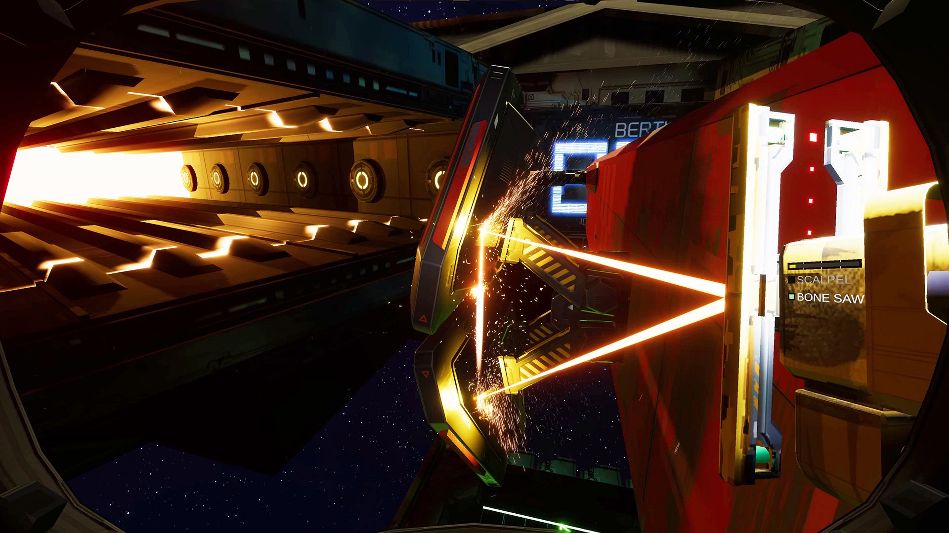 Spaceship-slicing sim Hardspace: Shipbreaker headed to PS4 and Xbox One screenshot