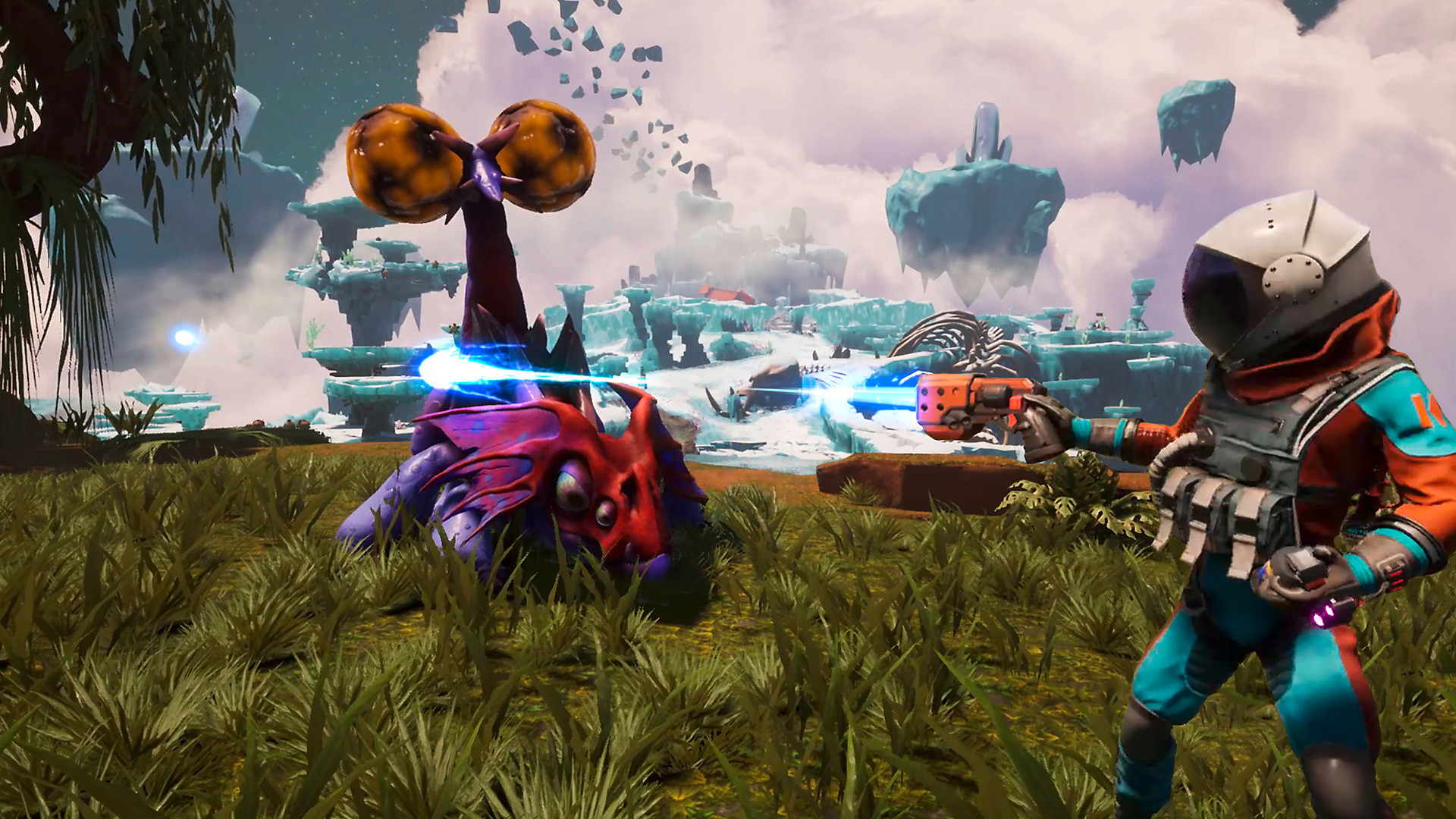 Forget New Game Plus, Journey to the Savage Planet just added Old Game Minus screenshot
