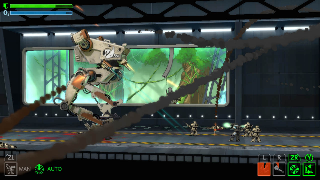Contest: Control a giant bipedal death machine with a Switch copy of BE-A Walker screenshot