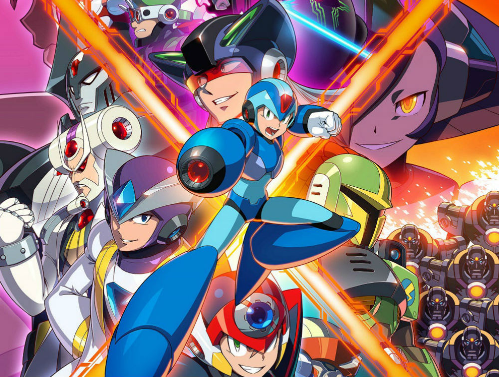 The Switch eShop is holding a sale for Mega Man games, from the classic to the X series screenshot